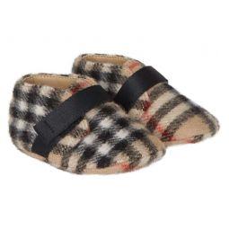 Charlton Vintage Check Wool Crib Shoe