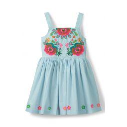 Fun Applique Sleeveless Dress