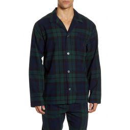 Plaid Flannel Pajama Shirt