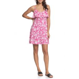 Real Friends Floral Minidress