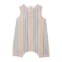 Chet Icon Stripe Cotton Romper