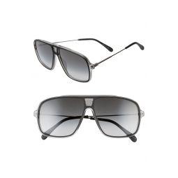 61mm Gradient Navigator Sunglasses
