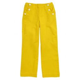 Button Front Sailor Pants