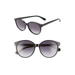 eliza 55mm round sunglasses