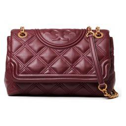 Fleming Soft Quilted Lambskin Leather Shoulder Bag