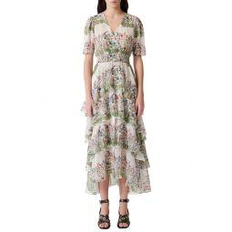 Raffle Floral Maxi Dress