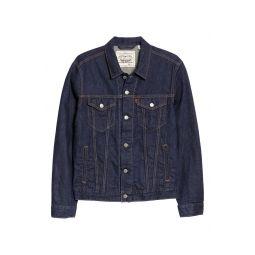 WellThread Cotton & Hemp Denim Trucker Jacket
