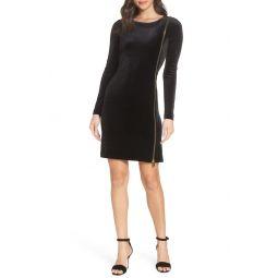 Zella Aurore Velvet Jersey Sheath Dress