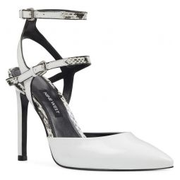 Kimi Open Back Halo Strap Pump