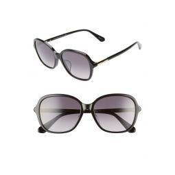 bryleefs 56mm round sunglasses