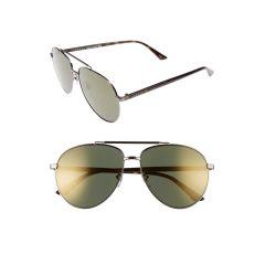 Retro Web 61mm Aviator Sunglasses