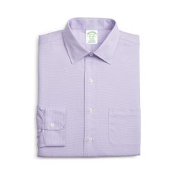 Trim Fit Solid Dress Shirt