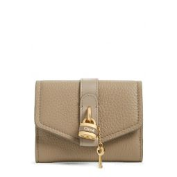 Aby Calfskin Leather French Wallet
