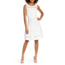 Kai Fit & Flare Sweater Dress