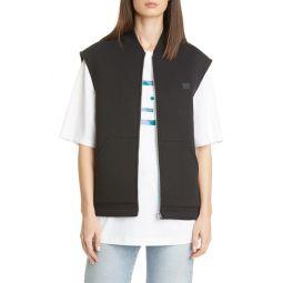 Foley Face Patch Fleece Vest