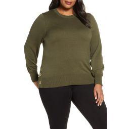 Grommet Detail Sweater