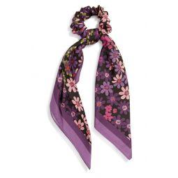 pacific petals silk hair tie