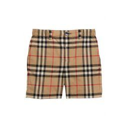 Sean Check Print Shorts