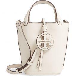 Mini Miller Leather Bucket Bag
