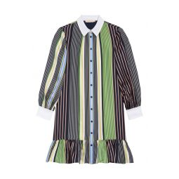 Cora Long Sleeve Shirtdress