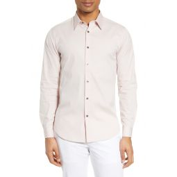 Sylvain Slim Fit Button-Up Dress Shirt