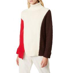 Viola Recut Turtleneck Sweater