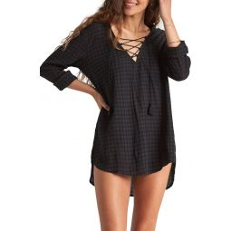 셔츠 Same Story Hooded Cover-Up Tunic
