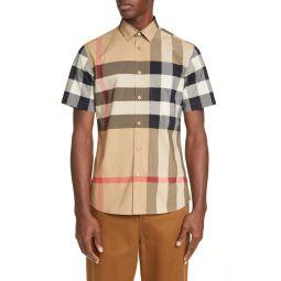 Somerton Plaid Button-Up Shirt