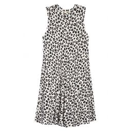 Print Sleeveless Knit Dress