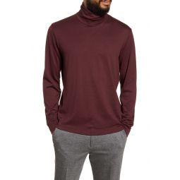 Turtleneck Cotton & Cashmere T-Shirt