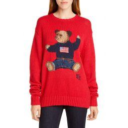 Polo Bear Cotton & Linen Sweater