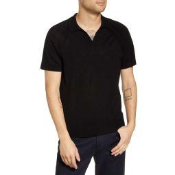 Johnny Collar Wool Polo Shirt
