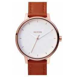 The Kensington Leather Strap Watch, 37mm
