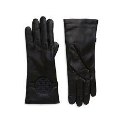 Miller T-Logo Leather Gloves