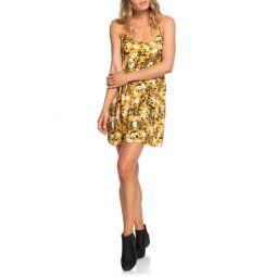 Tropical Sundance Print Babydoll Dress