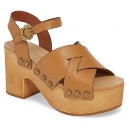 Nessa Clog Platform Sandal