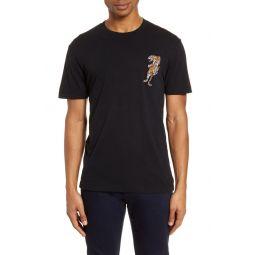 Tiger Applique T-Shirt