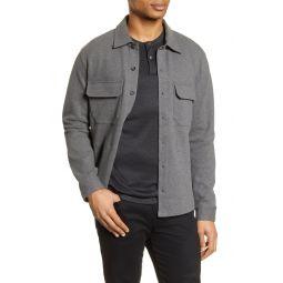 Slim Fit Shirt Jacket