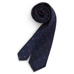 Shadow Dot Silk Tie