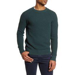 Regular Fit Waffle Knit Sweater