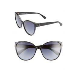 primrose 60mm gradient cat eye sunglasses