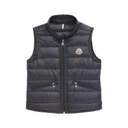 Water Resistant Quilted Down Nylon Vest