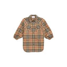 Teigan Check Print Jacket