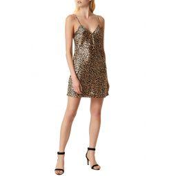 Leopard Print Slipdress
