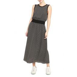 Sleeveless Silk Maxi Dress