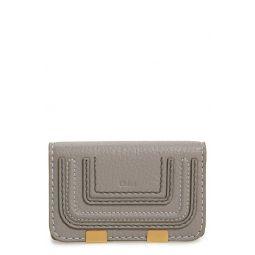 Marci Leather Flap Card Holder