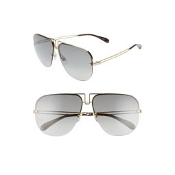 64mm Oversize Navigator Sunglasses