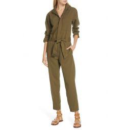 Belted Slim Jumpsuit