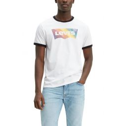 Pride Community Graphic Ringer T-Shirt