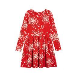 Print Twirly Jersey Dress
